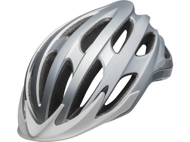 Bell Drifter Kask rowerowy, thunder matte/gloss silver/light+dark gray